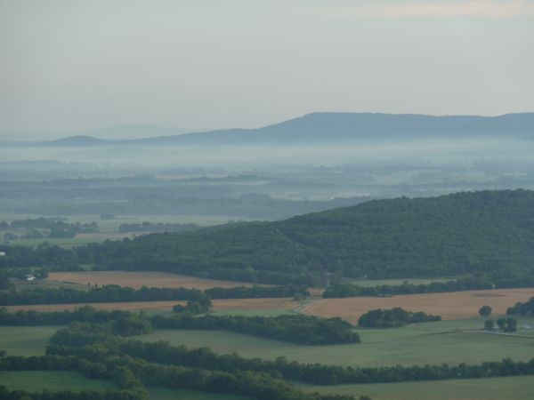 View from mountaintop in Sewanee TN